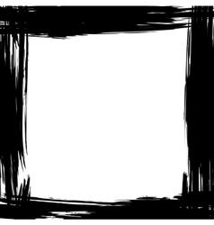 brush frame vector image