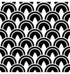 Decorative circle pattern vector