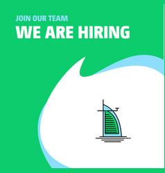 Join our team business company dubai hotel we vector
