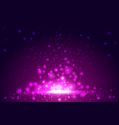 pink backgroundwith bokeh shiny abstract vector image