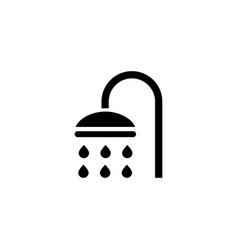 shower sprinkler spray icon vector image