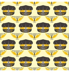 Taxi badge seamless pattern vector