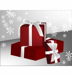 three gifts vector image