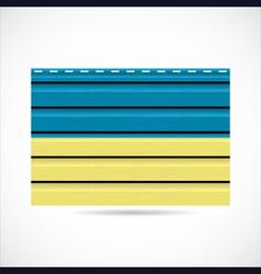 Ukraine siding produce company icon vector