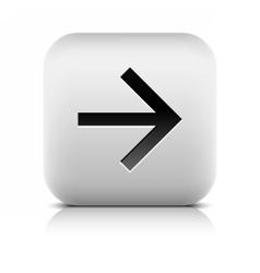 Web icon with black arrow sign vector image