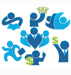 make the money save the economy vector image vector image