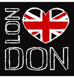 London City t shirt 2 vector image vector image
