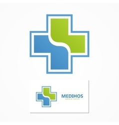 medical logo Health logo vector image