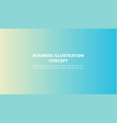 Abstract colorful gradient landing page template vector