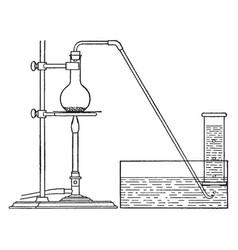 Apparatus vintage vector