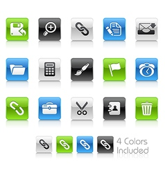 Interface Clean Series vector image