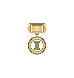 Medal computer symbol vector