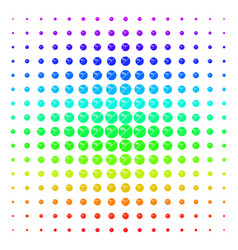 pharmacy tablet icon halftone spectral grid vector image