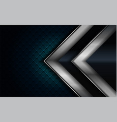 Realistic navy blue combine with silver and black vector