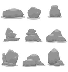 Stones set vector