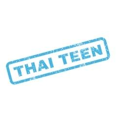 Thai Teen Rubber Stamp vector