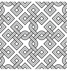Viking seamless pattern - engraved gold - rings vector
