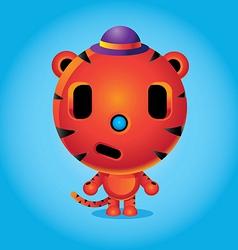 animales tigre vector image