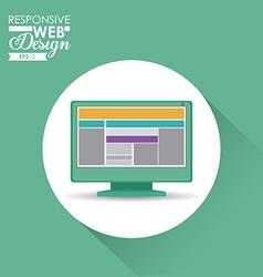 Responsive Web Design vector image