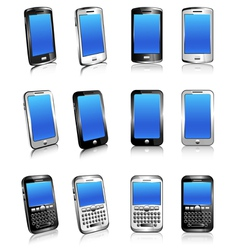 Cell Phone Mobile smart phone vector image