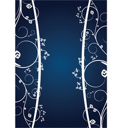 Abstract of a floral background with lots of vector