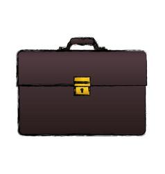 Business briefcase accesory vector