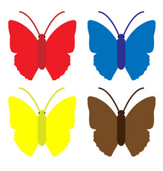 butterfly packs vector image