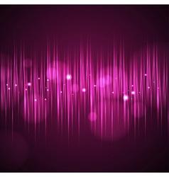 Disco neon background vector image
