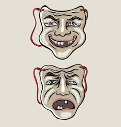 Mask opera vector
