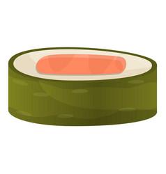 sashimi roll icon cartoon style vector image