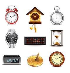 Set clock vector