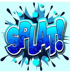 splat vector image