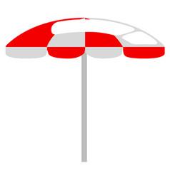 Summer umbrella icon vector