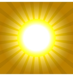 Sun Rays Pattern Absctract background vector image