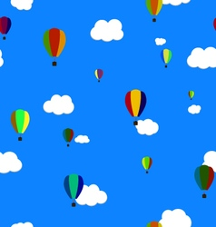 Seamless Pattern Balloons EPS10 vector image vector image