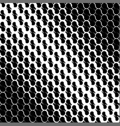 abstract geometric black and white graphic design vector image vector image