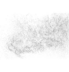 Distressed black texture vector