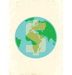 Earth money vector