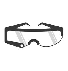 modern glasses icon vector image