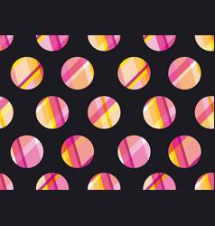 modern polka dot seamless pattern concept surface vector image