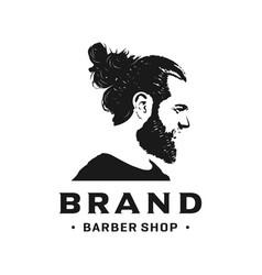 people39s head logos vector image