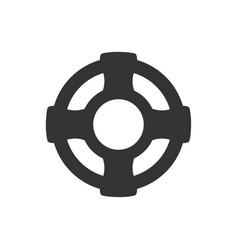 Rescue icon vector