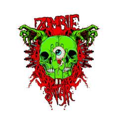 Zombie guts vector
