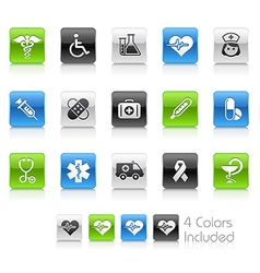 Medicine Health Care Clean Series vector image vector image