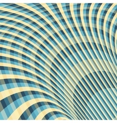 Abstract swirl background Pattern with optical vector image vector image