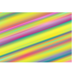 abstract colourful holographic stripes minimal vector image