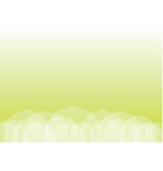 Abstract light green polygonal background vector