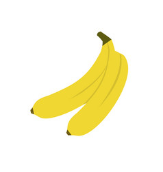 banana icon on white background for graphic and vector image