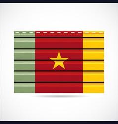 Cameroon siding produce company icon vector