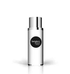 Cosmetics packaging vector